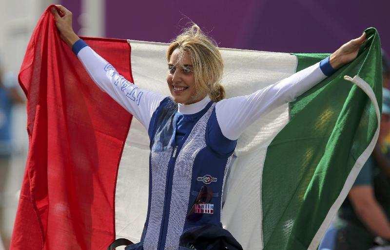 Olimipadi 2012: Oro per Jessica Rossi, 99 centri su 100