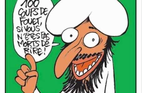 charlie hebdo pubblica caricatura di maometto