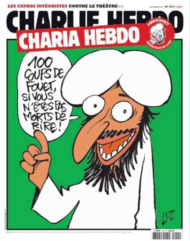 """charlie hebdo pubblica nuove caricature di maometto 629x800 - """"Charlie Hebdo"""" pubblica nuove caricature di Maometto"""
