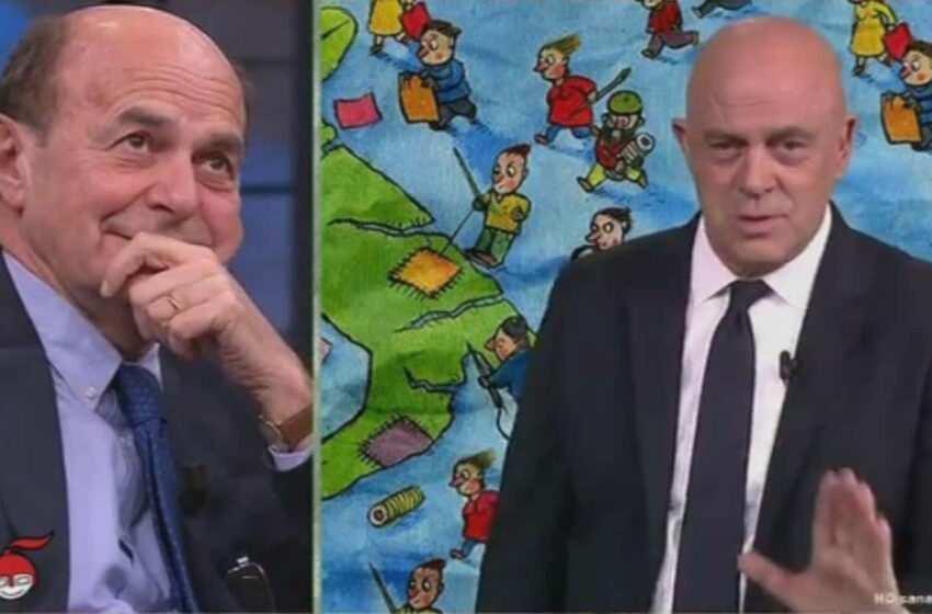 Crozza porta Bersani dallo psicologo