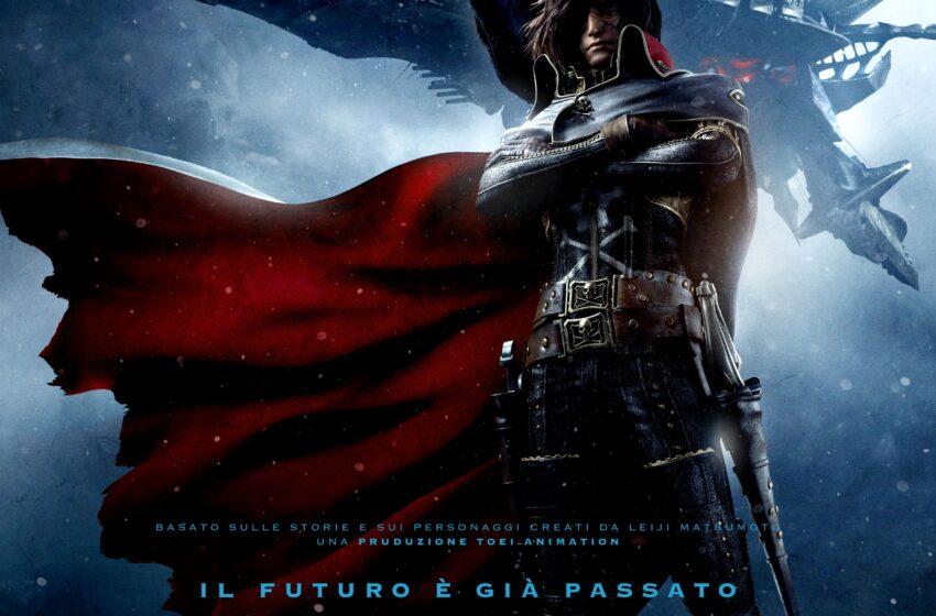 Capitan Harlock, il film arriva in Italia