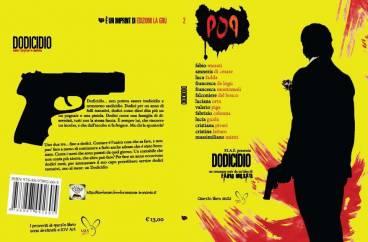 dodicidio cover def 368x242 - DODICIDIO: ROMANZO NOIR COLLETTIVO PER BENEFICENZA