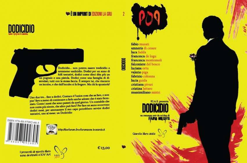 Dodicidio: romanzo noir collettivo per beneficenza
