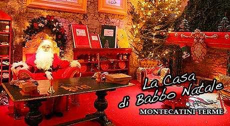La Casa di Babbo Natale a Montecatini Terme offerta con hotel