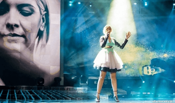 Roberta Pompa, X Factor 7, intervista