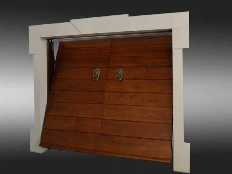 porta basculante castagno - Come riparare la porta basculante di un garage
