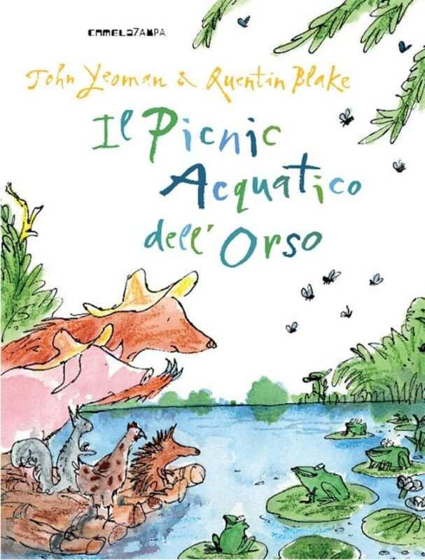 il picnic acquatico dell orso 607x800 - Un orso in libreria! due libri per i bambini di John Yeoman e Quentin Blake