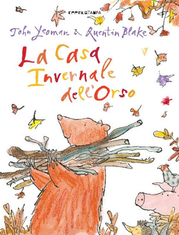 la casa invernale dell orso 607x800 - Un orso in libreria! due libri per i bambini di John Yeoman e Quentin Blake