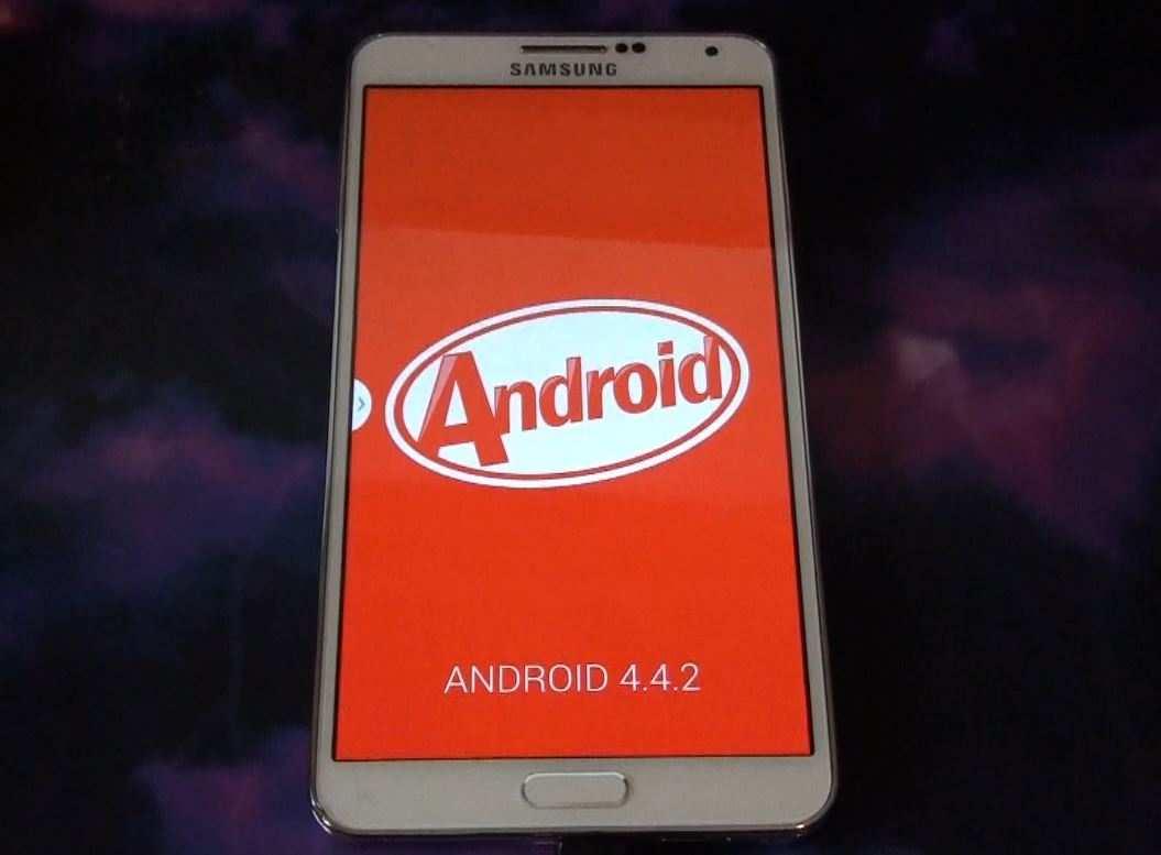 Samsung Galaxy Note 3 KitKat - Samsung Usa annuncia Android 4.4.2 KitKat ecco i dispositivi