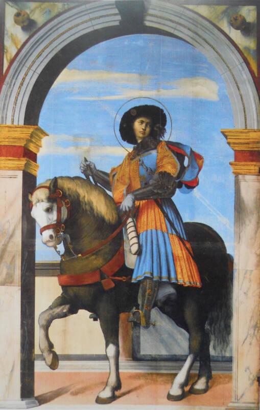 San Faustino a cavallo 509x800 - Festa dei single San Faustino, le curiosità di questa leggenda