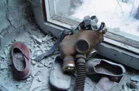 Maschera antigas Chernobyl bambini