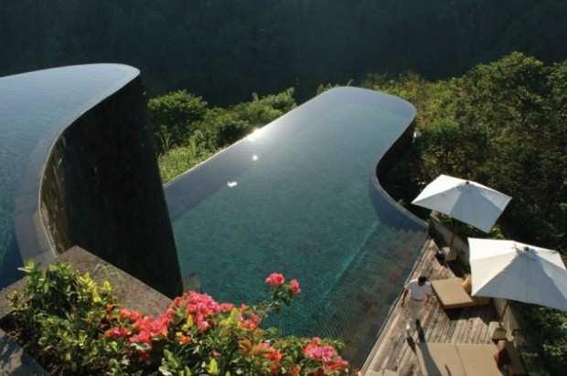 Ubud Hanging Gardens Bali Indonesia - 7 hotel con le piscine più belle del mondo