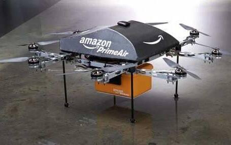 Il drone di Amazon e il nuovo corriere espresso