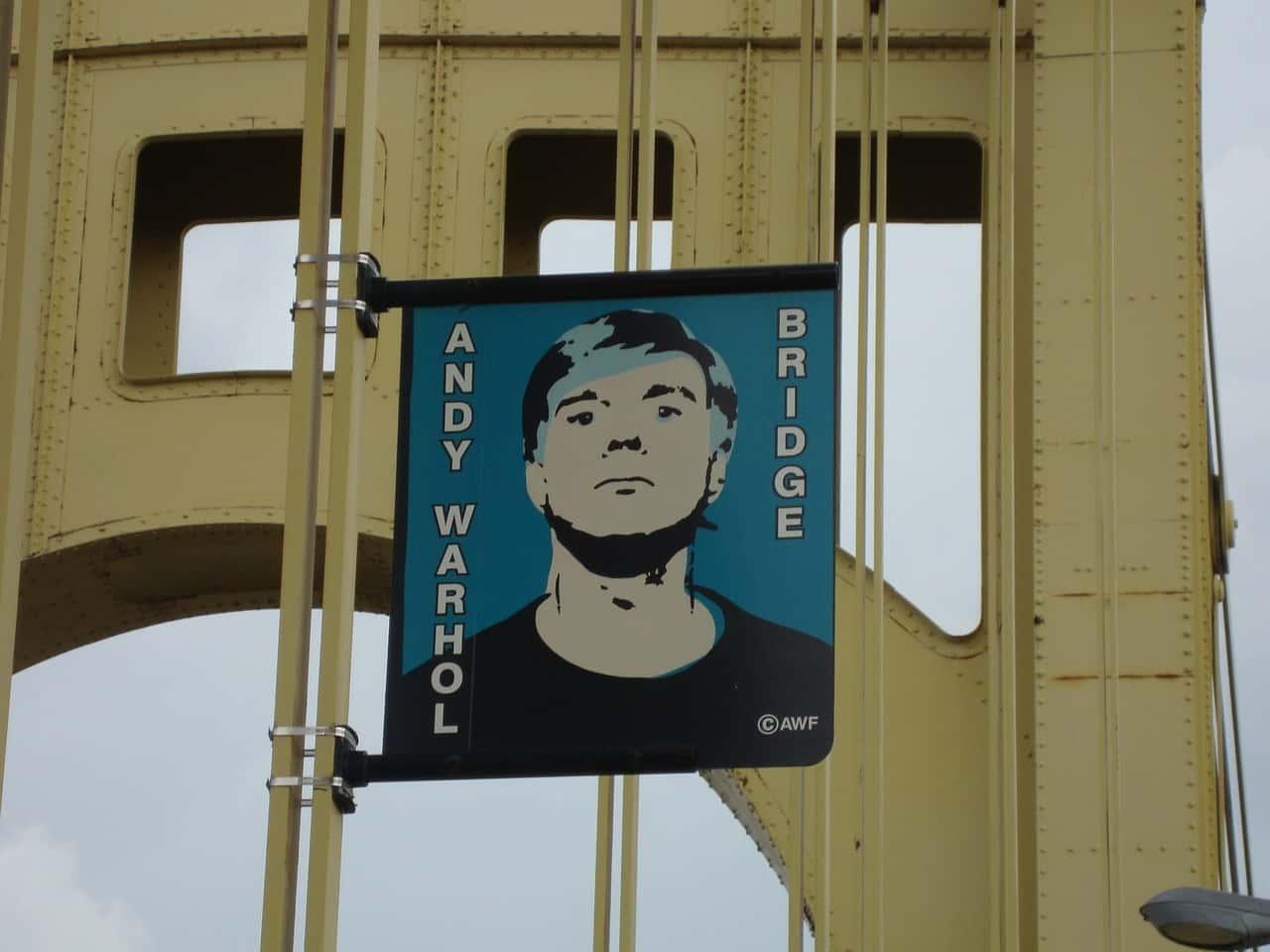 andy warhol bridge 2 - Andy Warhol: trovate 12 opere inedite su floppy disc del maestro della pop art