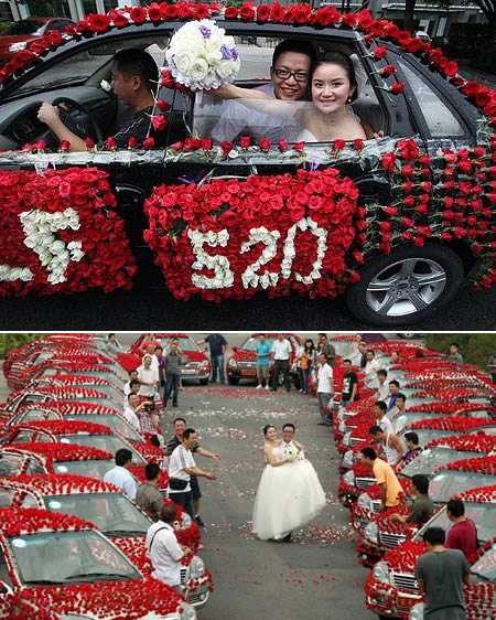 matrimoni strani 5 - Matrimoni curiosi: le cerimonie più stravaganti