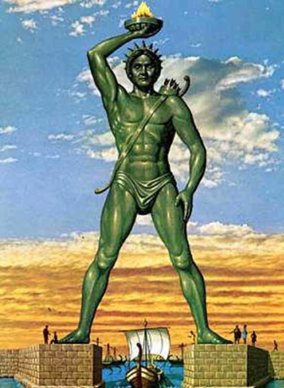 Sette meraviglie monumentali del mondo antico 586x800 - Sette meraviglie monumentali del mondo antico