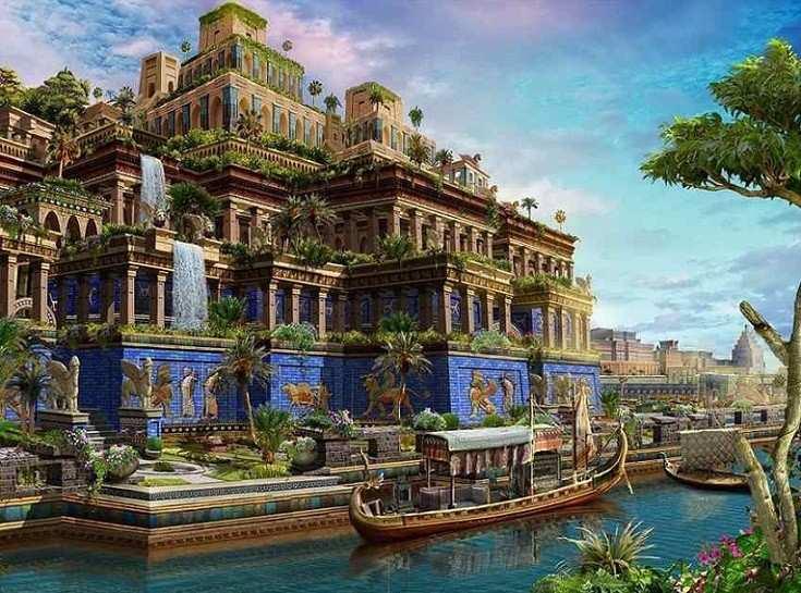 Sette meraviglie monumentali del mondo antico Babilonia - Sette meraviglie monumentali del mondo antico