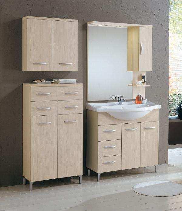 Idee per riuscire ad arredare il bagno di casa nostra for Mobiletti per bagno economici