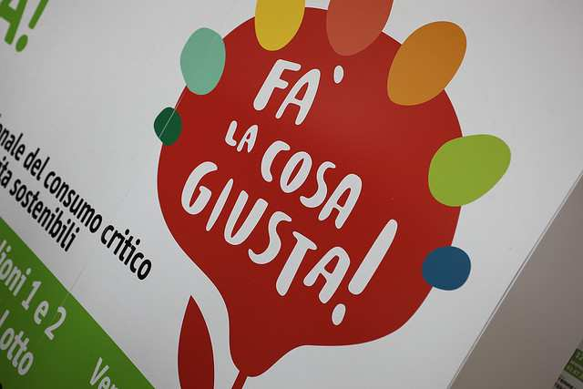 """Bilancio """"Fa' la Cosa Giusta"""" edizione 2014: tra eco-sostenibilità e impegno sociale"""