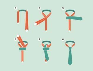 come fare il nodo alle cravatte da uomo 1 316x242 - Come fare il nodo alle Cravatte da Uomo? Video e foto