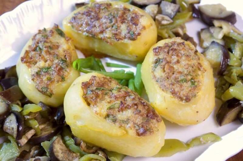 ricetta di patate al forno 800x531 - Patate al forno la ricette gustosa, scenografica e ricca