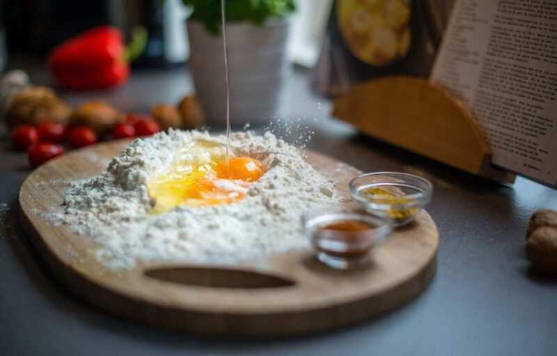 uoava farina scaled 800x511 - Come creare un blog di ricette di cucina (guida utile)