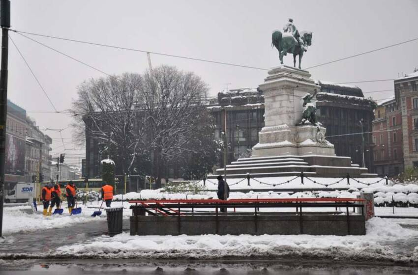 Offerte Lavoro Milano: Amsa cerca 8.000 spalatori di neve