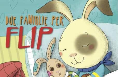copertina libro due famiglie per flip