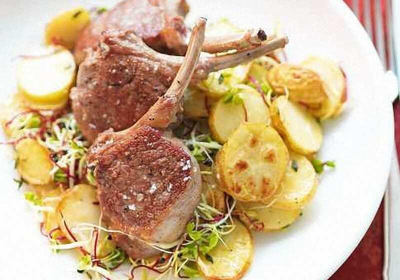 Panada con agnello e patate la ricetta