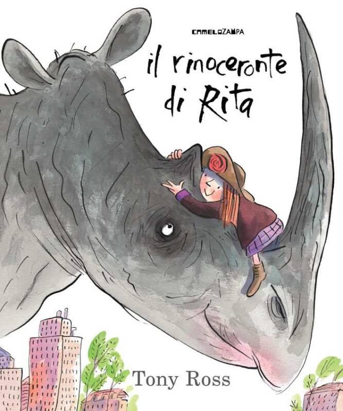rinorita 667x800 - Il rinoceronte di Rita di Tony Ross e Le straordinarie macchine del Signor Mustacchio di Ilaria Guarducci