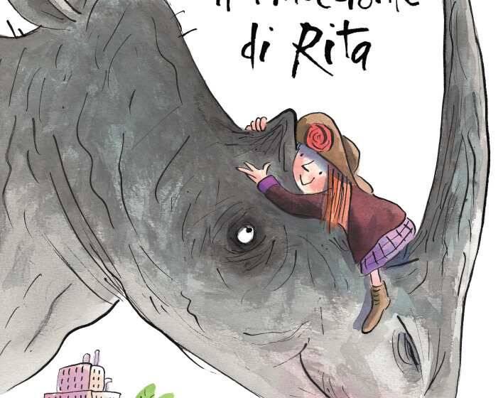 Il rinoceronte di Rita di Tony Ross e Le straordinarie macchine del Signor Mustacchio di Ilaria Guarducci