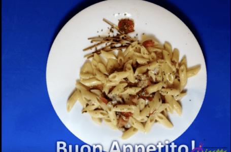Pennette salsiccia e gorgonzola