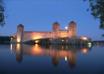 castello di olavinlinna finlandia