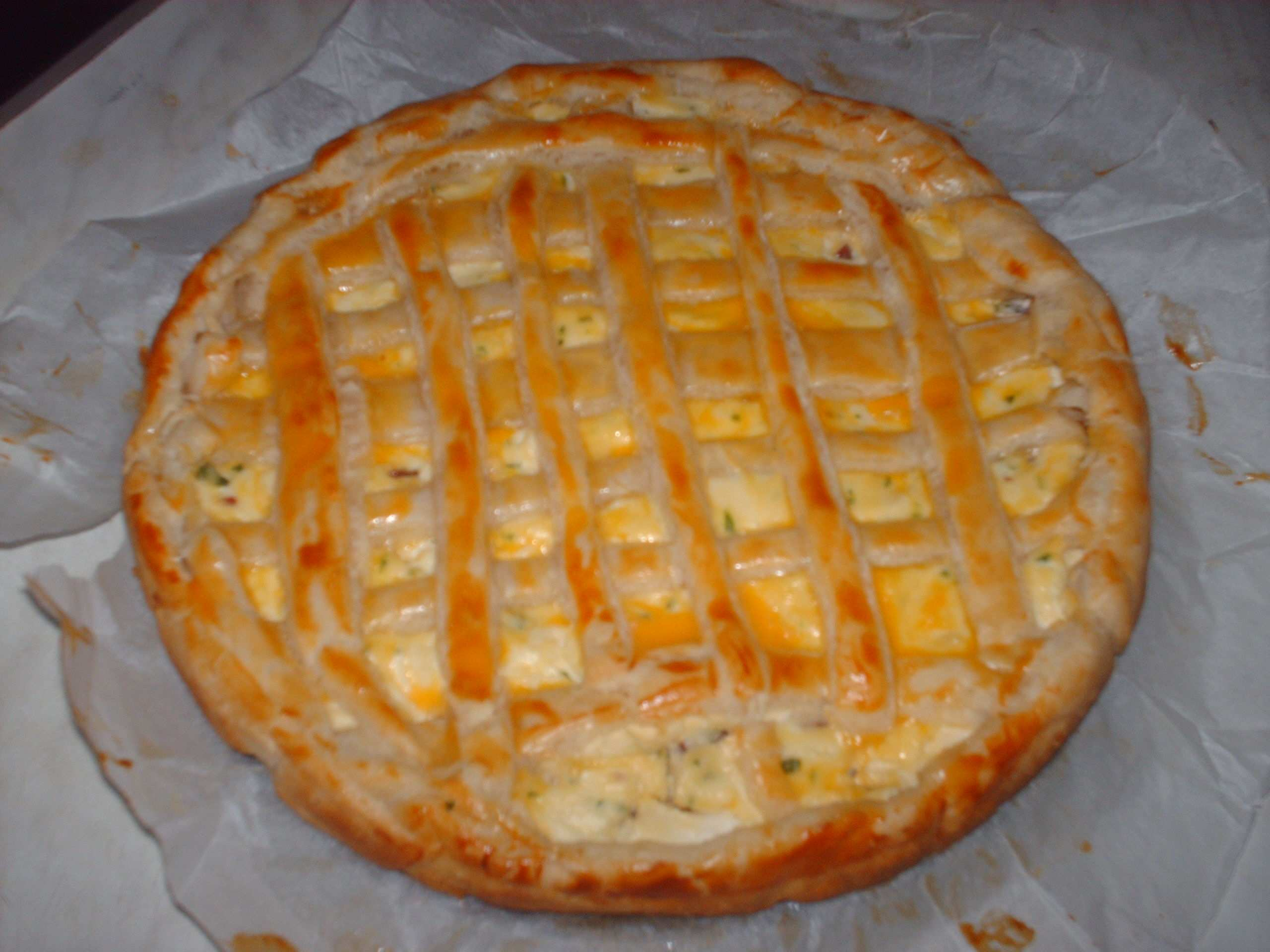 ricette di rustici con la pasta sfoglia 1 - Ricette di rustici con la pasta sfoglia: torta di ricotta e salsiccia