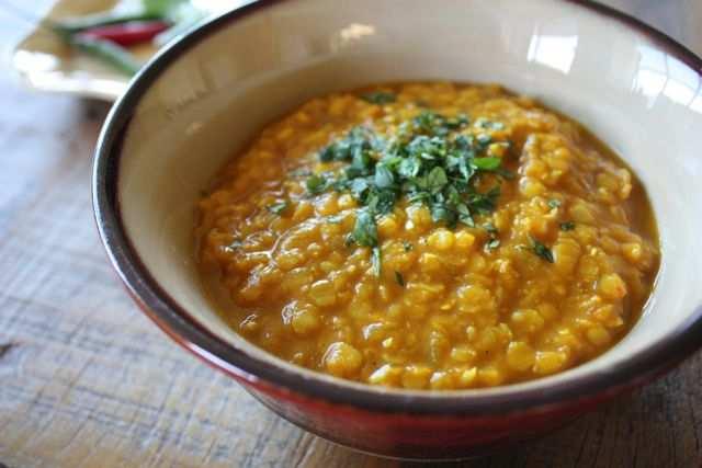 Dahl: ricetta di lenticchie rosse