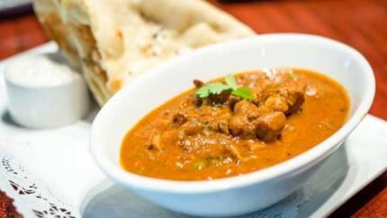 Ricetta del pollo al curry indiano