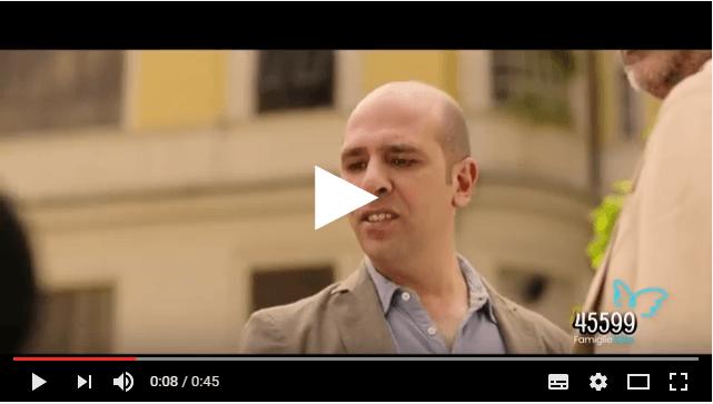Sma di tipo 1: Checco Zalone regala lo spot per la ricerca (Video)
