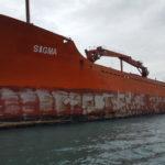 Lavori Subacquei Recupero nave Sigma
