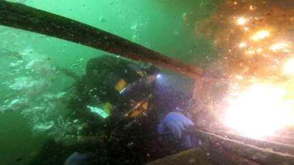Lavori Subacquei taglio marino