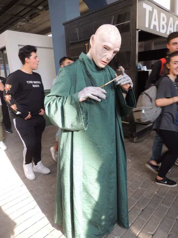 Matteo Scittarelli Voldemort 1 600x800 - Intervista ai Cosplayer Italiani: Matteo Scittarelli – Lord Voldemort Harry Potter