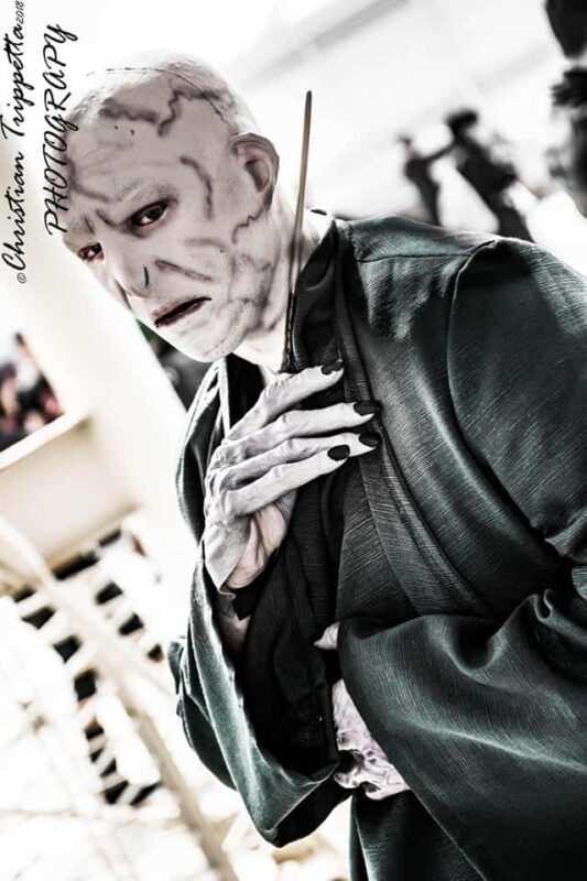 Matteo Scittarelli Voldemort 2 533x800 - Intervista ai Cosplayer Italiani: Matteo Scittarelli – Lord Voldemort Harry Potter