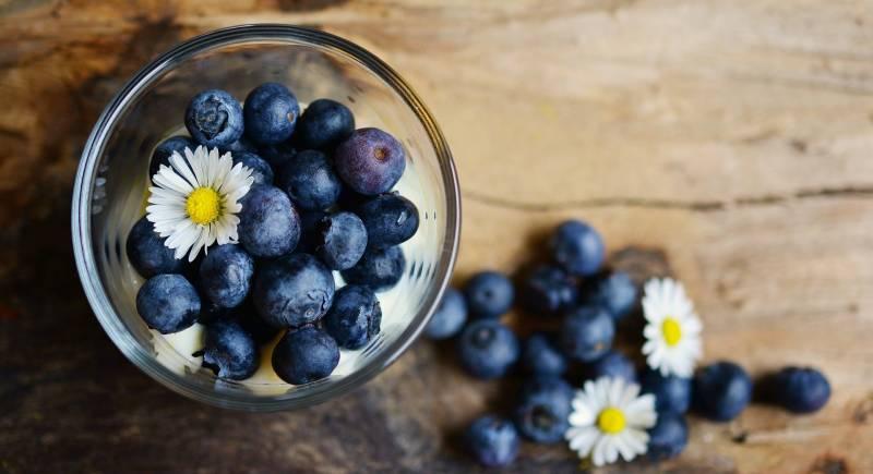 mirtilli in coppetta 800x435 - Mirtillo: curiosità, proprietà benefiche e le migliori ricette di bellezza - rimedi naturali