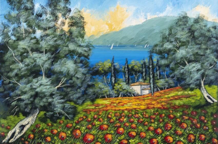 Il mondo della pittura vista con gli occhi di Domenico Monteforte