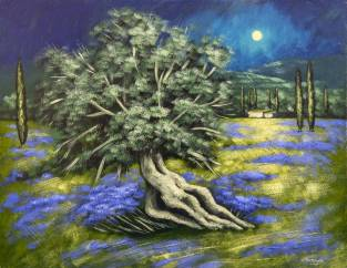Domenico Monteforte Ulivo 313x242 - Il mondo della pittura vista con gli occhi di Domenico Monteforte