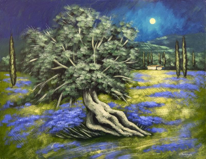 Domenico Monteforte Ulivo 800x619 - Il mondo della pittura vista con gli occhi di Domenico Monteforte
