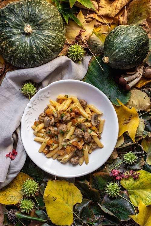 Penne zucca funghi polpettine - World Pasta Day: I 5 step fondamentali per la cottura perfetta della pasta di grano khorasan KAMUT®