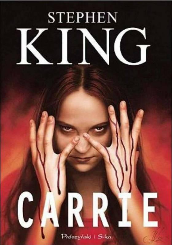 Carrie libro 560x800 - Il film flop tratti dai romanzi di Stephen King