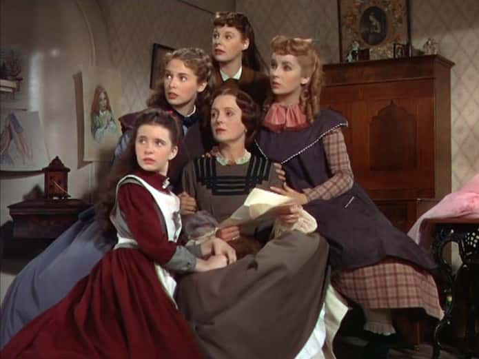 Piccole donne film 1949 - Libri da regalare a Natale: Piccole donne di Louisa May Alcott