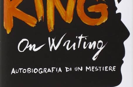 Copertina Libro On Writing di Stephen King