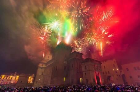 Ferrara, incendio castello estense